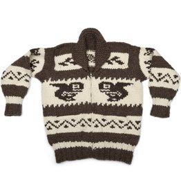 XL Cowichan Orca Sweater
