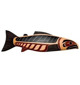 4' Salmon Plaque