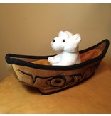 Bill Helin Toy Canoe for Finger Puppets