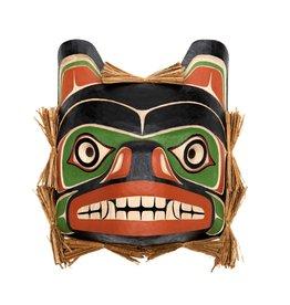 Northwest Coast Black Bear Mask (Kwak'waka'wakw)