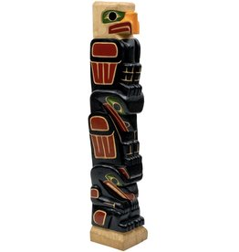 Eagle, Raven, and Bear Totem Pole