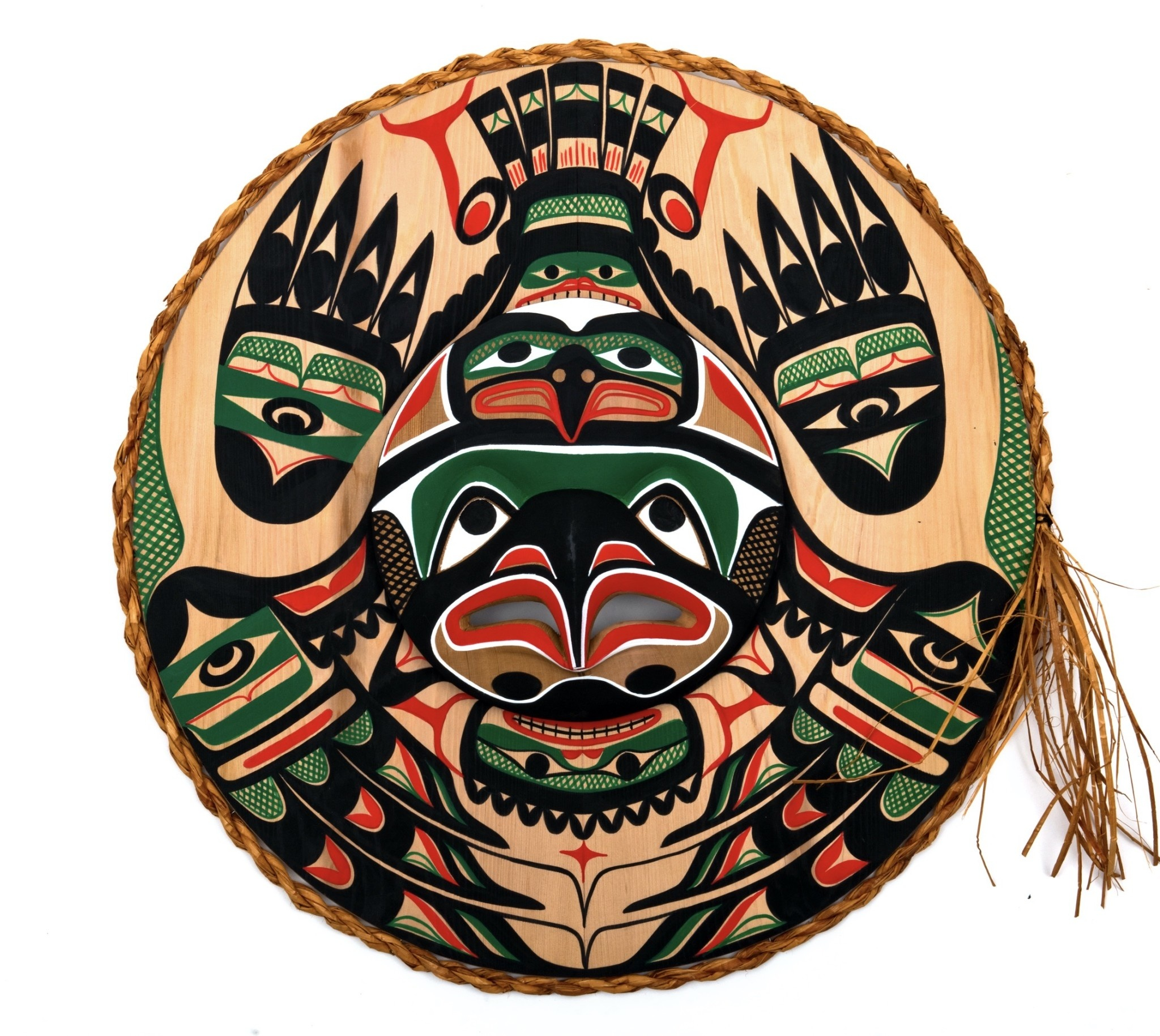 Nu-chah-nulth Eagles Moon Mask
