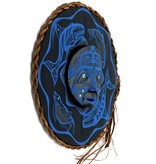 Nu-chah-nulth Orca and Seal Moon Mask