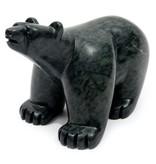 Large Soapstone Bear by Howard Moose (Cree)