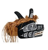 Large West Coast Wolf Mask/Headdress