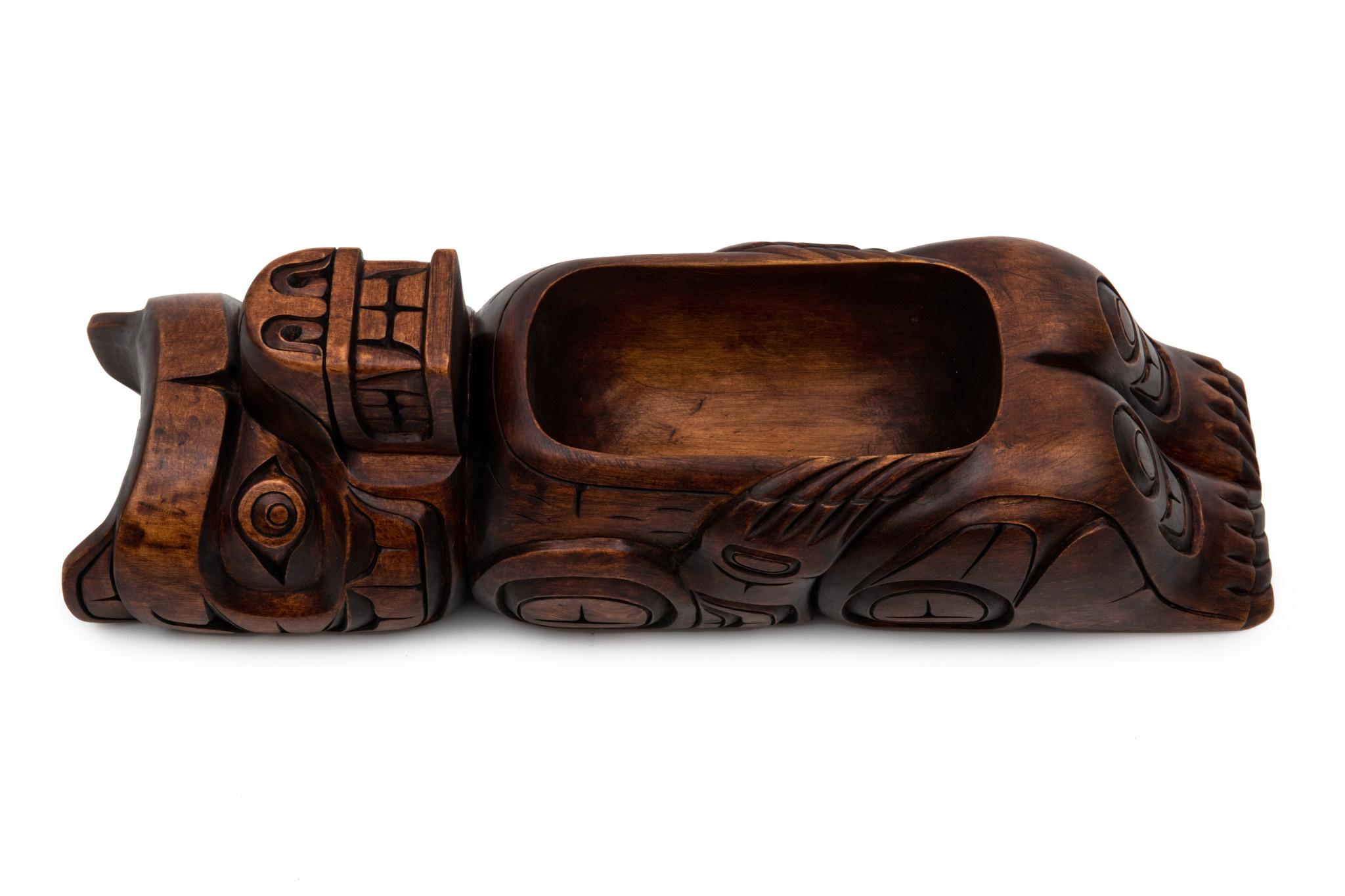 Kwak'waka'wakw Bear Bowl