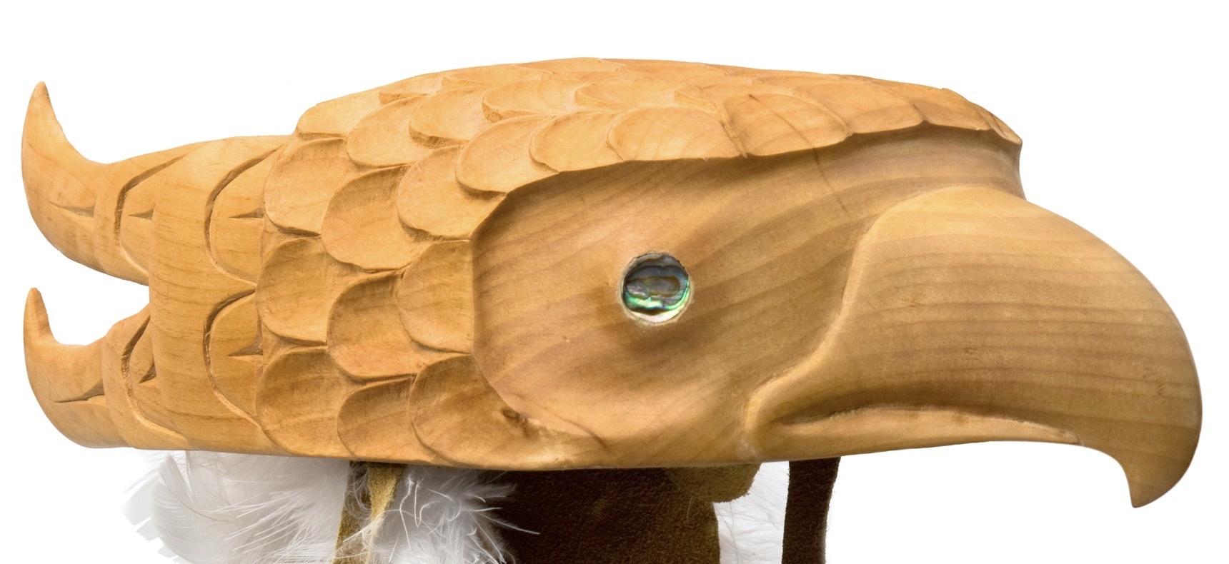 Gitxsan Eagle Headdress