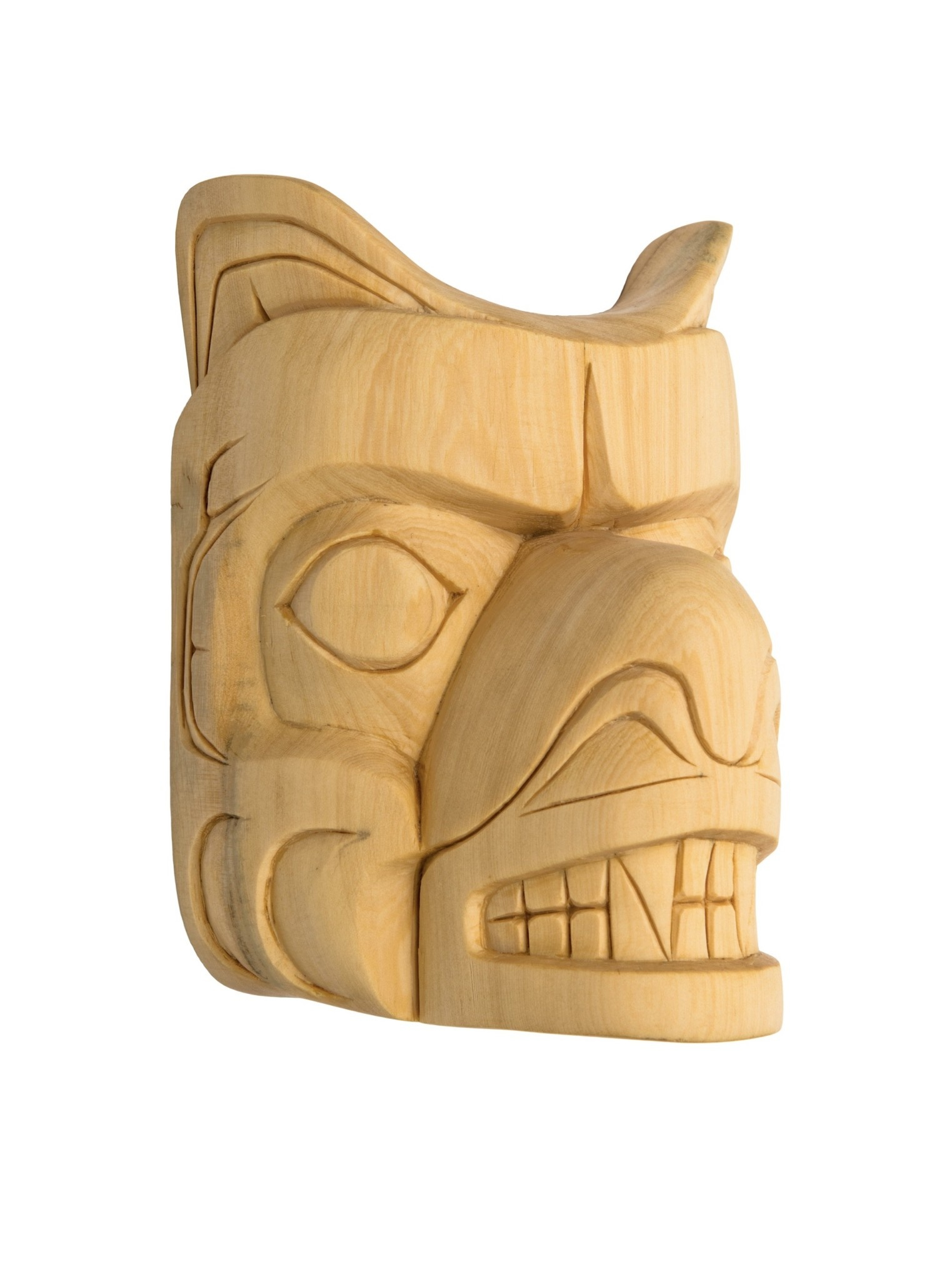Small Kwak'waka'wakw Bear Mask