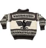 Plus size Eagle Cowichan Sweater