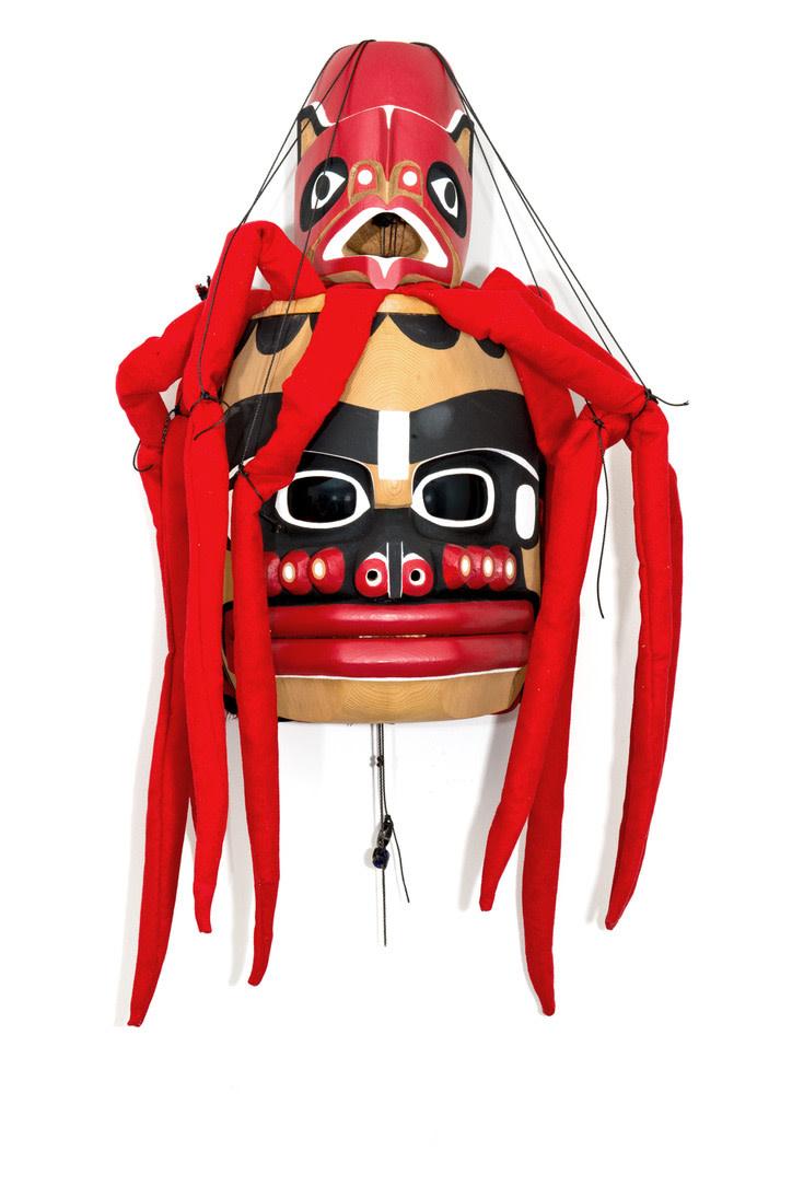 Kwak'waka'wakw Octopus Mask