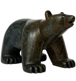 Very Large Soapstone Bear (Cree).
