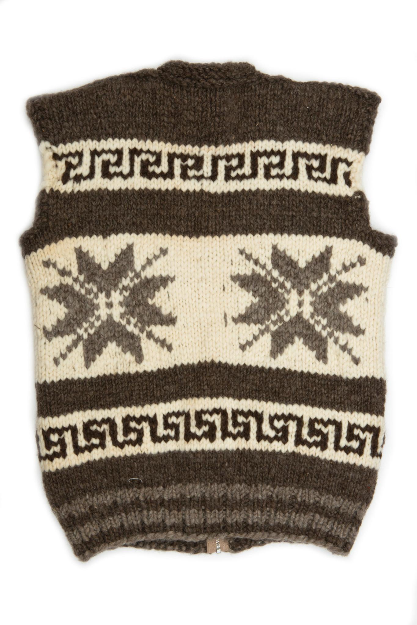 Snowflake Cowichan Vest