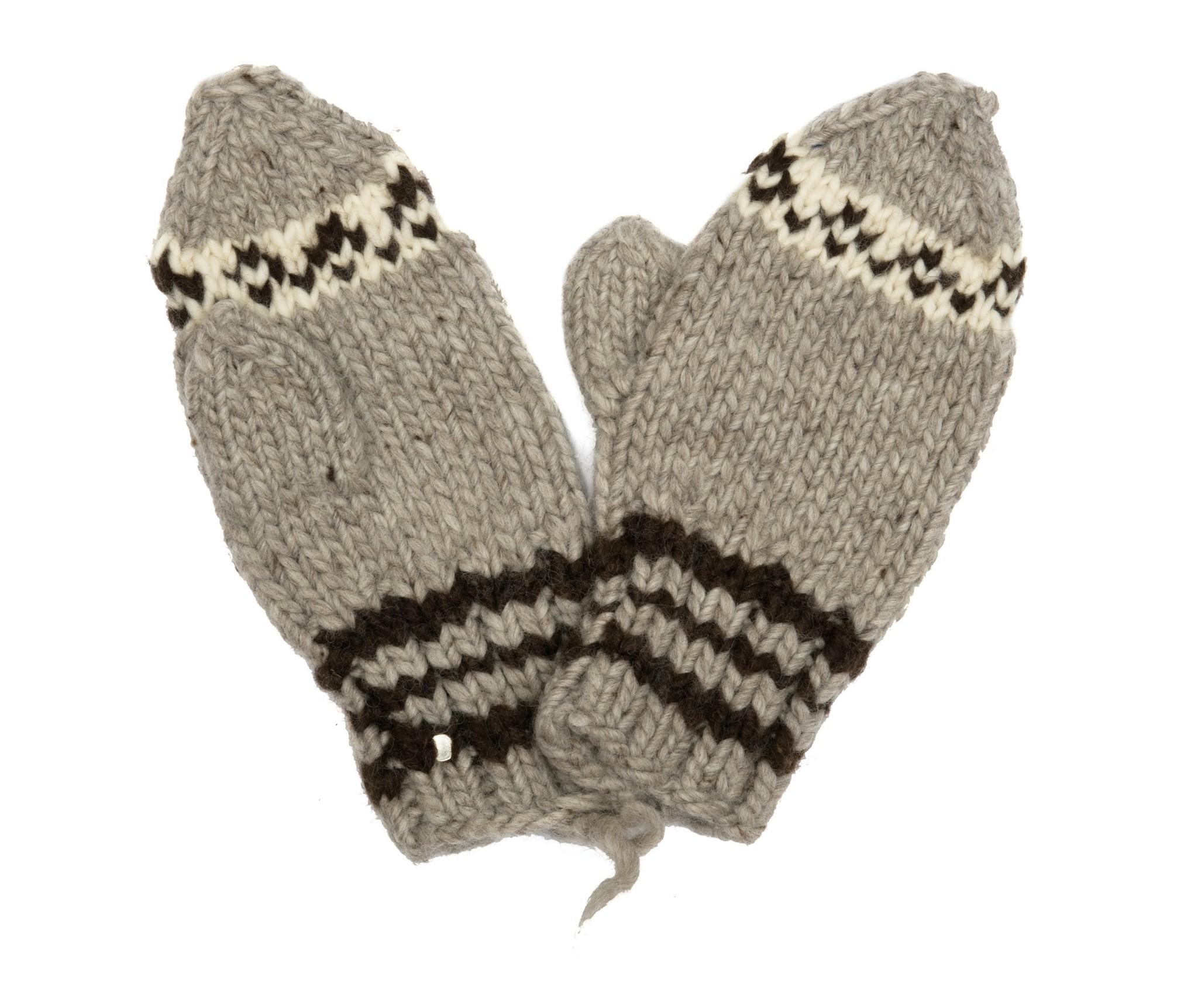 Cowichan Knit Mittens