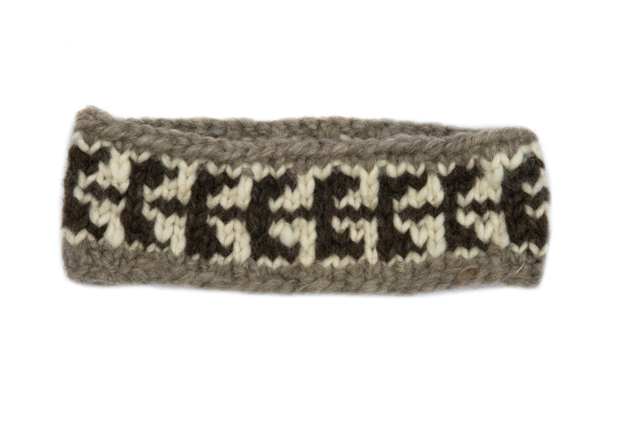 Cowichan Knit Headband