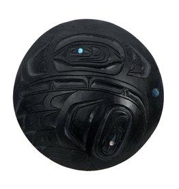 Haida Argillite Eagle Pendant