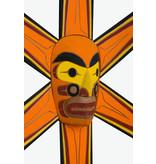 Coast Salish Sun Mask