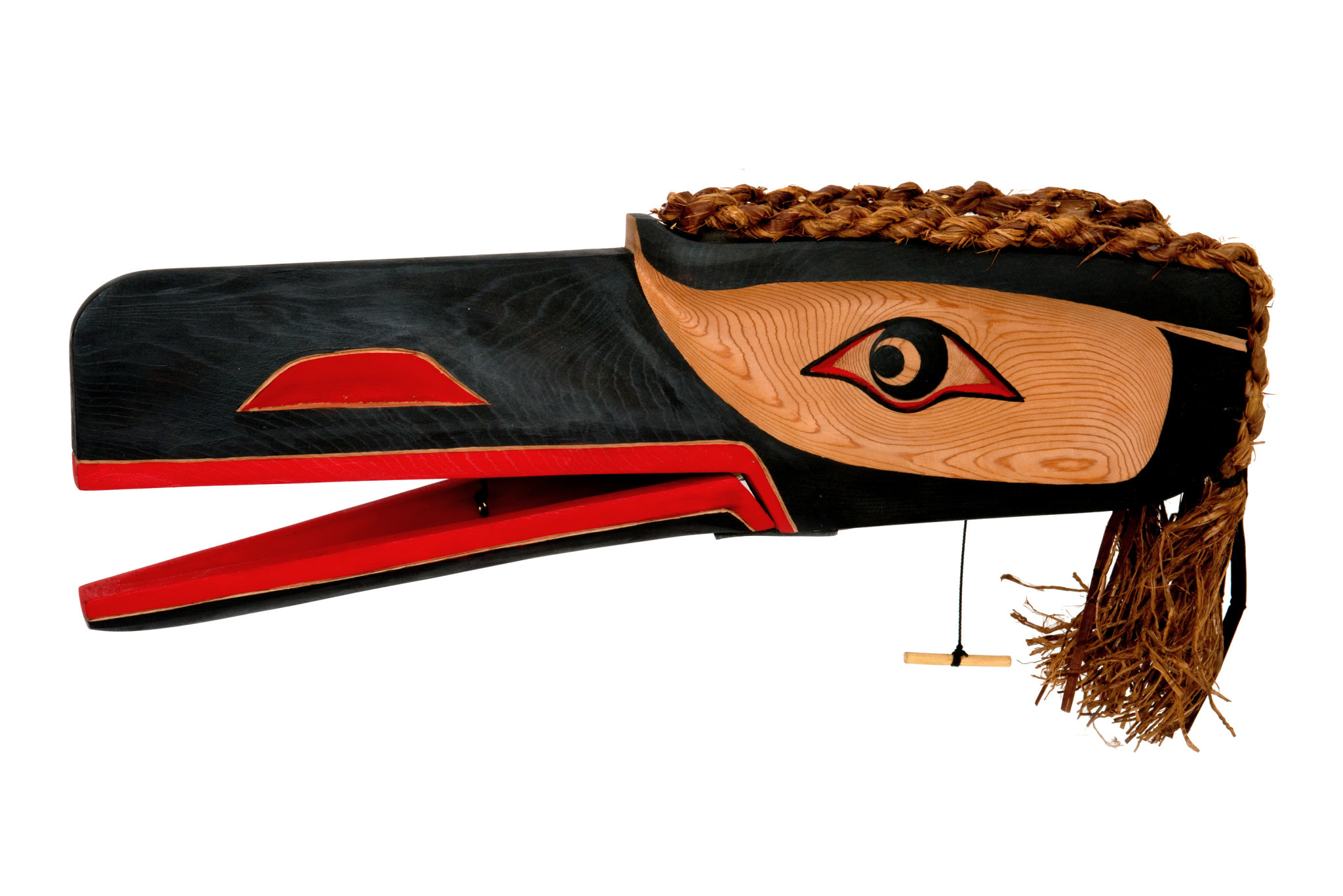Coast Salish Raven Mask