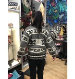 Small Cowichan Sweater - Frog design