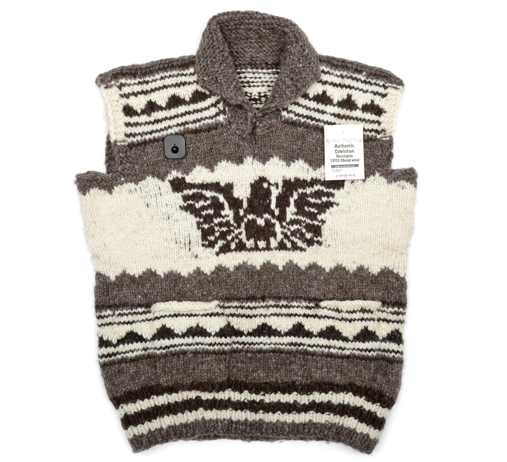 4XL Eagle Pullover Cowichan Vest