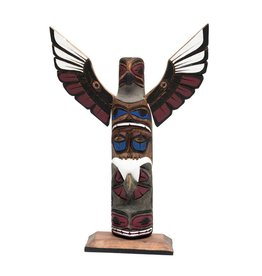 "12"" Totem Pole by Harvey Williams (Dididat)."