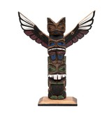 "12"" Northwest Coast Totem Pole"
