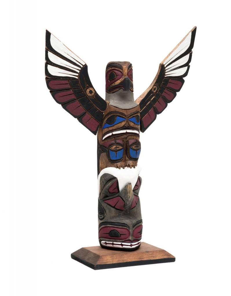 """12"""" Northwest Coast Totem Pole"""
