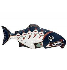 Chum Salmon Plaque by William Good