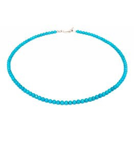 Turquoise Necklace by Shaun Slagle (Navajo).