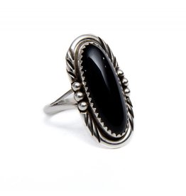 Long Black Onyx Ring by Randy and Etta Endito