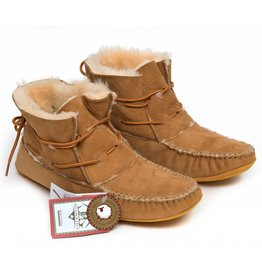 Sheepskin Ankle Moccasin