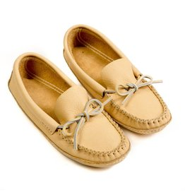 Light Moosehide Moccasins