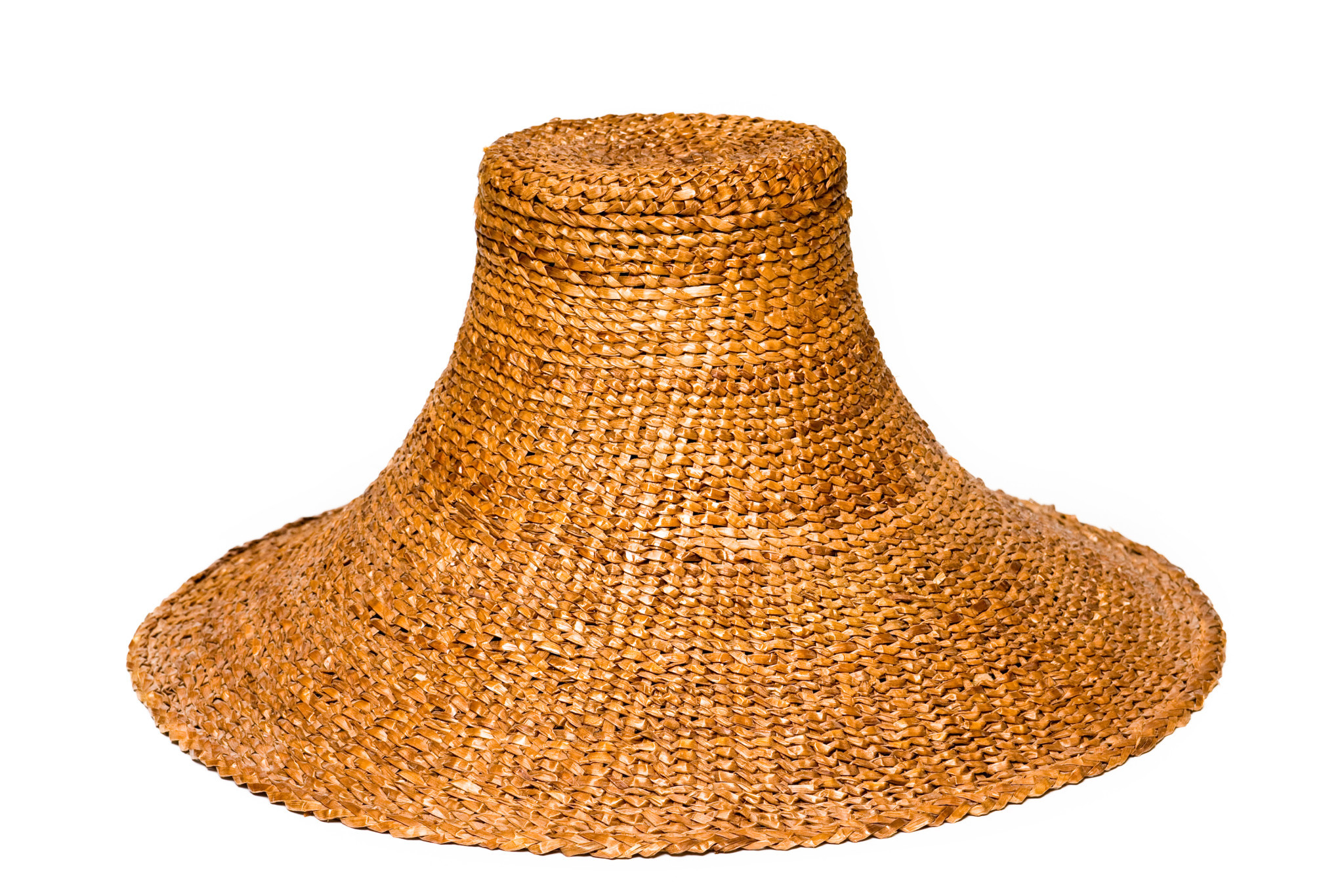 Traditional West Coast Cedar Bark Hat