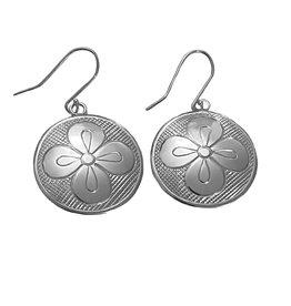 Anishinabe Flower Earrings