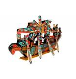 SOLD Spirit Canoe by Jimmy Joseph (Kwakwakawakw).
