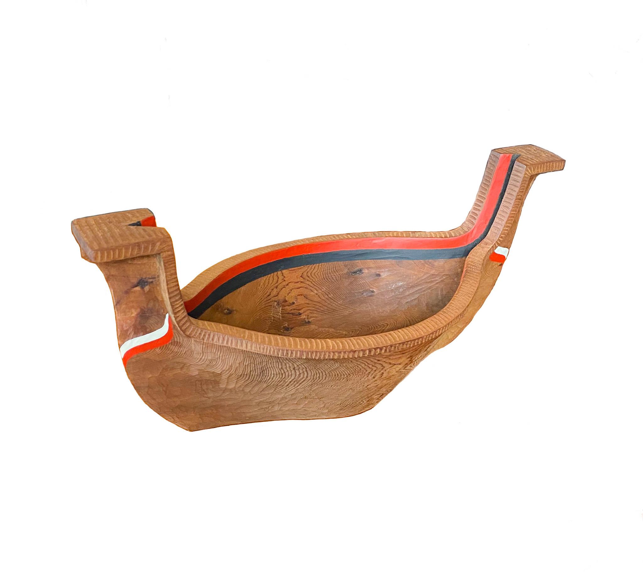 Carved Bowl  by Leslie Wells