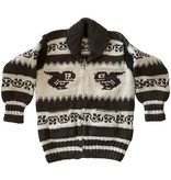 Large Orca Cowichan Sweater