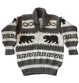 Cowichan Pullover Sweater  - Bears design