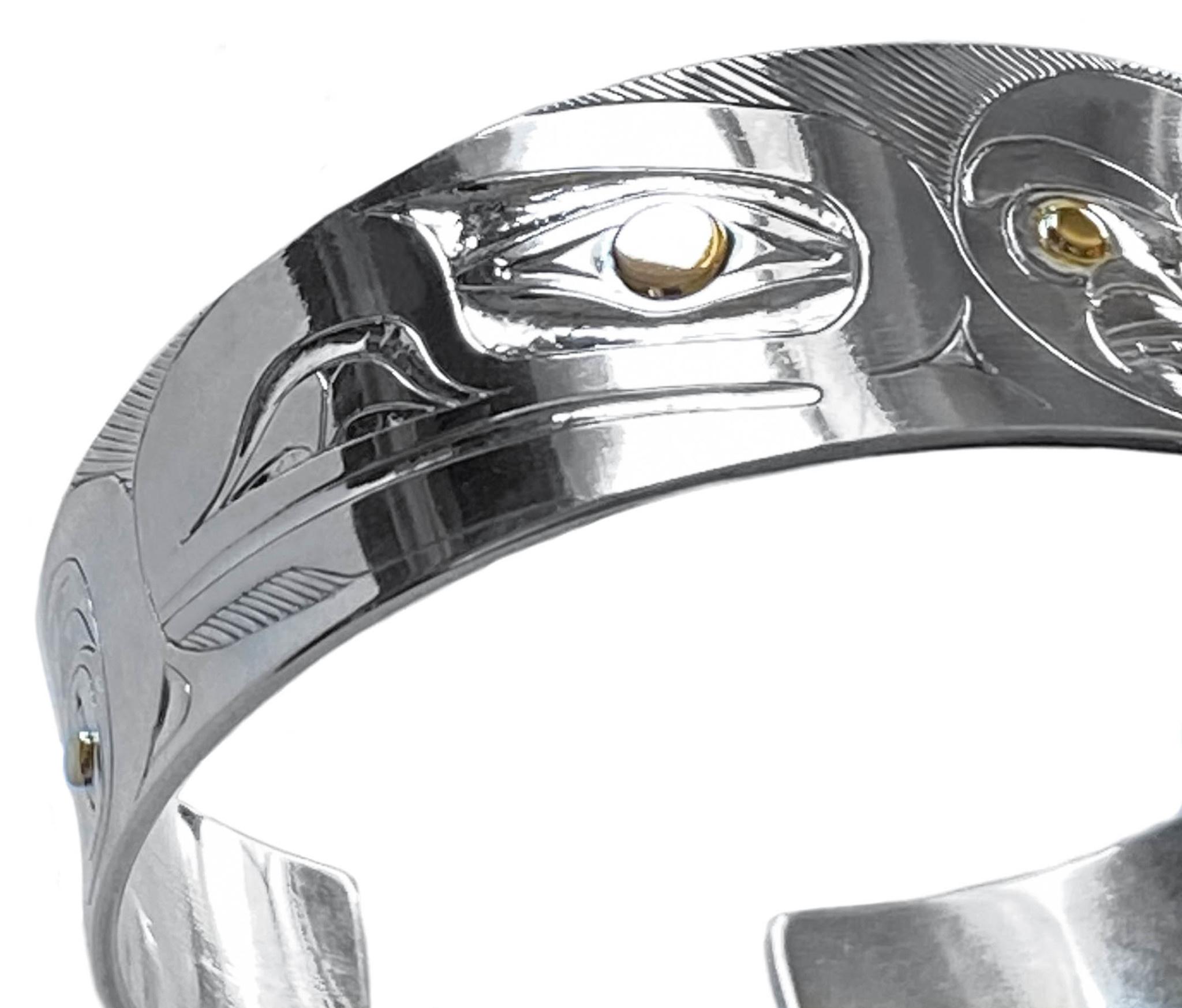 Haida Raven and Sun Bracelet