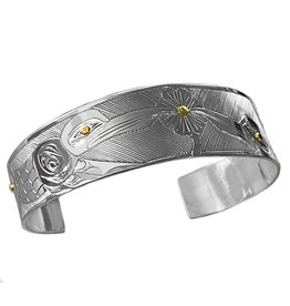 Haida Double Hummingbird Bracelet