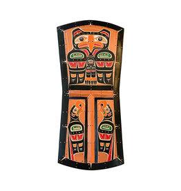 Copper Shield Eagles Panel (Kwak'waka'wakw)