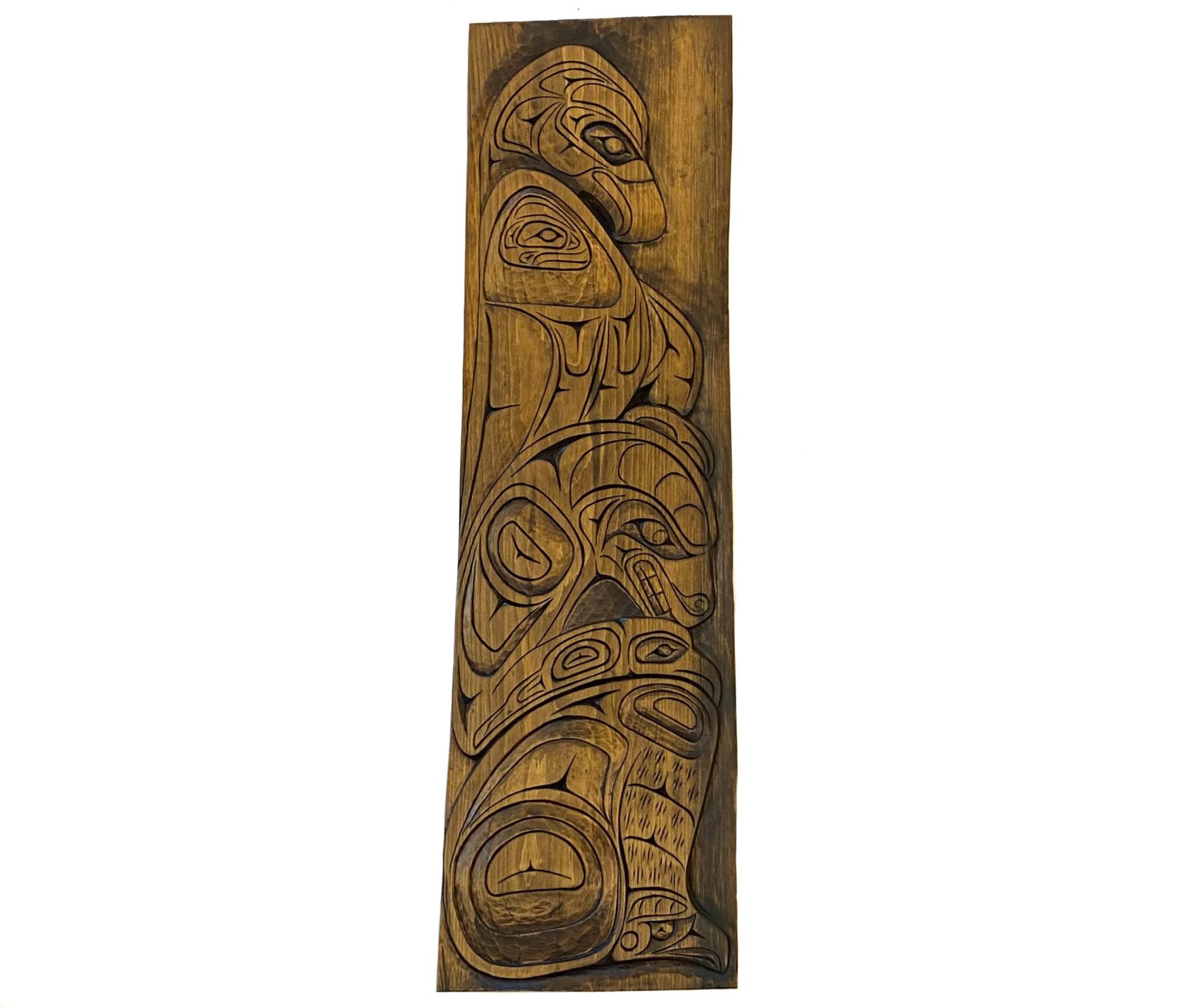 Northwest Coast Eagle Bear Panel