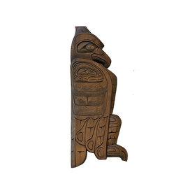 Northwest Coast Eagle Carving