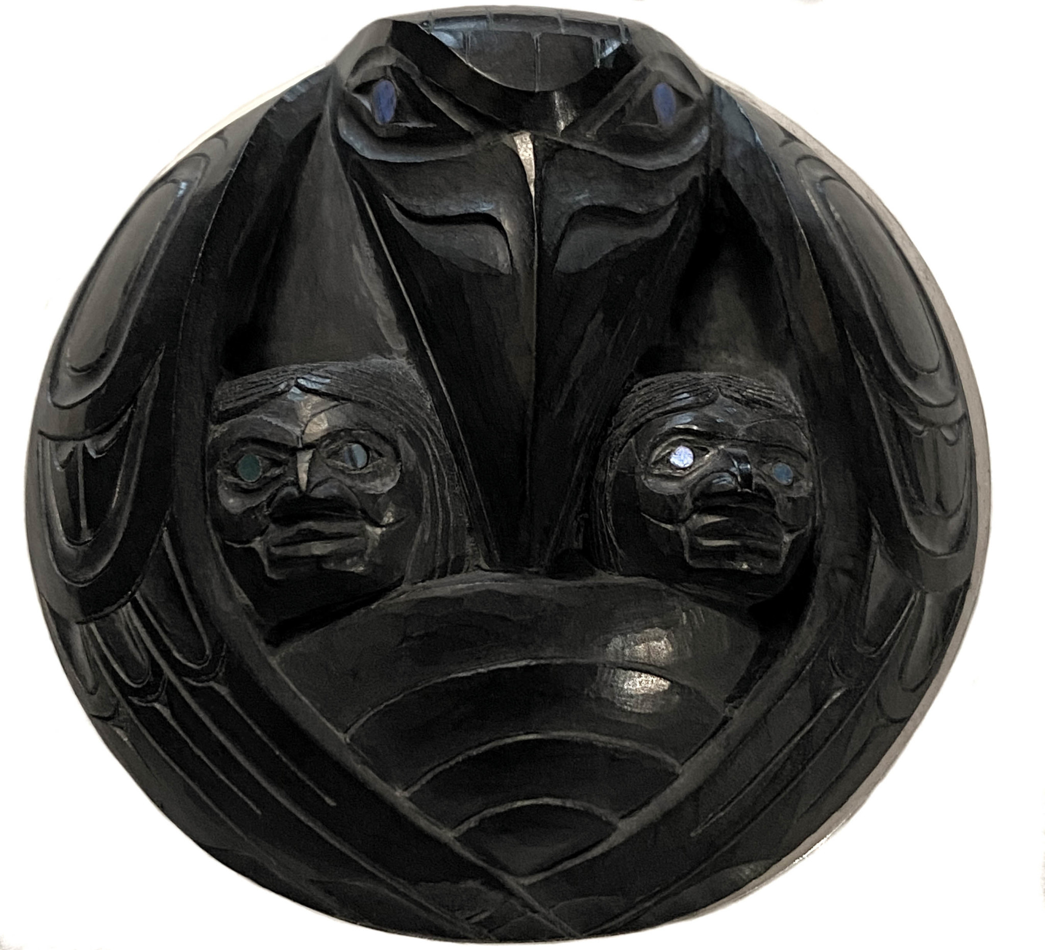 Raven and the First Men - Argillite Pendant