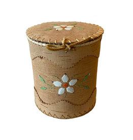 """Medium Round Birchbark Basket - 7"""" x 7.5"""""""