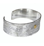 "3/4"" Haida Grizzly Bear Bracelet"