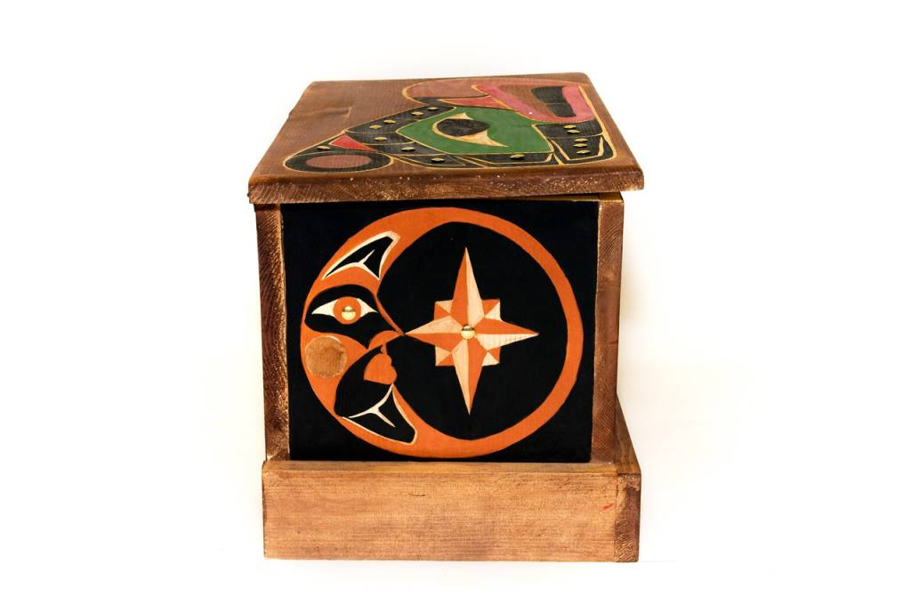 Killer Whale Eagle Box (Nu-chah-nulth)