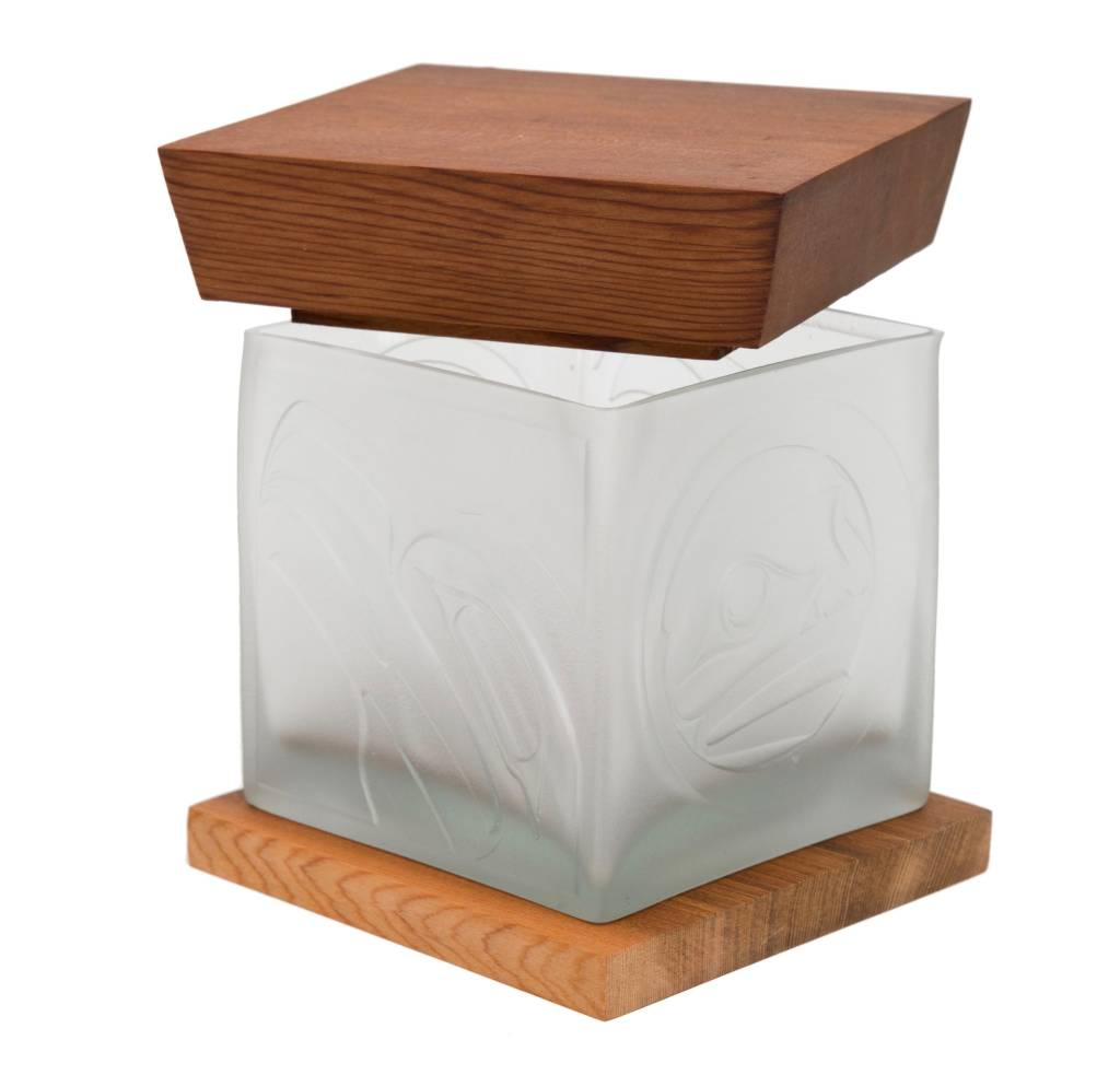 Eagle Glass Box by Alano Edzerza