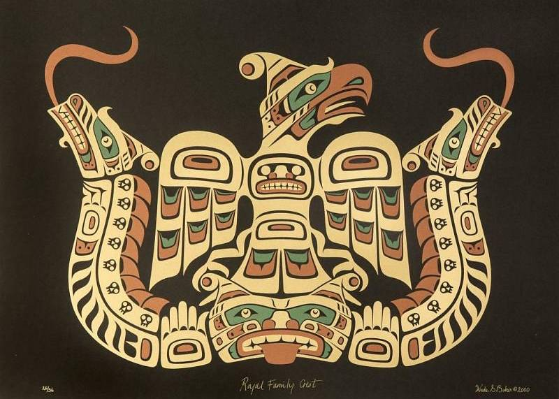 Northwest Coast Native Crests