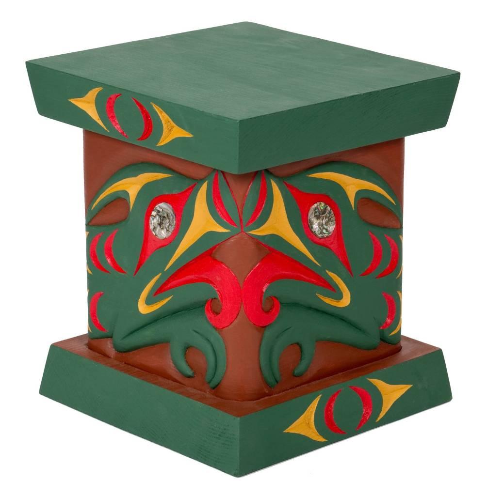 Bent Box with Salish Serpent Design