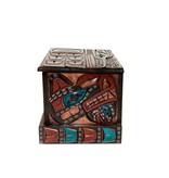Eagle Dancer   Raven   Wolf Dancer Box by Jimmy Joseph (Kwagiulth)